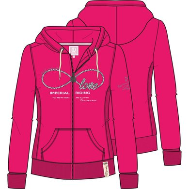 Imperial Riding Sweater Once In A Lifetime Fuchsia XS