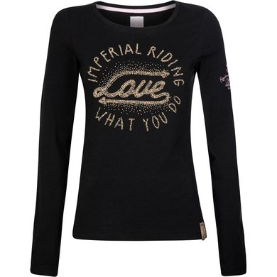 Imperial Riding T-shirt Winter Love Black XS