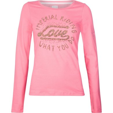 Imperial Riding T-shirt Winter Love Dark Rose L