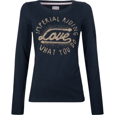 Imperial Riding T-shirt Winter Love Navy S