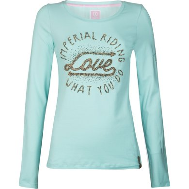 Imperial Riding T-shirt Winter Love Ocean L