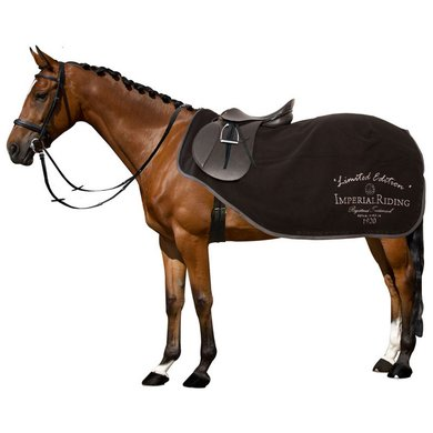 Imperial Riding Trainingsdeken Train Me Fleece Black 155