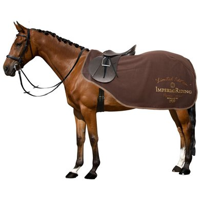 Imperial Riding Trainingsdeken Train Me Fleece Brown 155