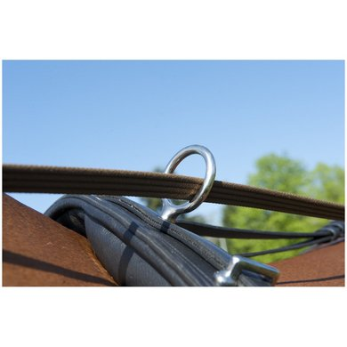 Imperial Riding Flex tuigsleutels hoog RVS Full