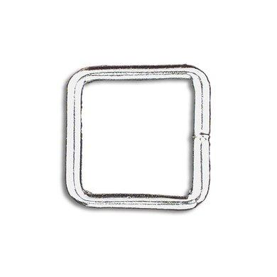 Imperial Riding Vierkante ringen nikkel 25mm Nikkel 25mm