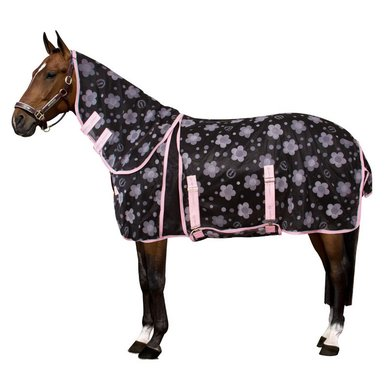 Imperial Riding Vliegendeken Daisy Flower black 185