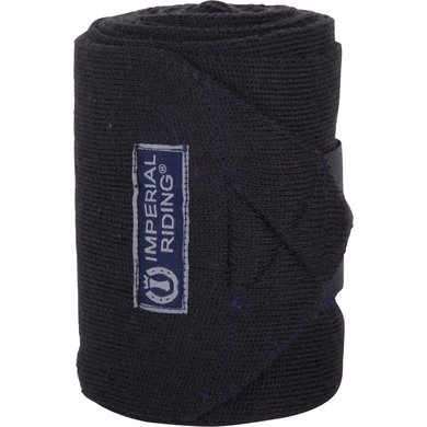 Imperial Riding Wool bandages Navy 4 meter