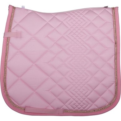 IR Zadeldekje Simply The Best dressuur Powder Pink Full
