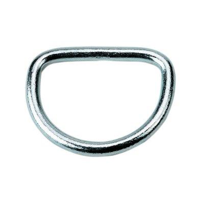 Kerbl D-Ring verzinkt 8 Stück