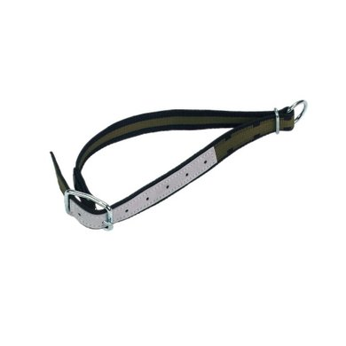 Kerbl Halsband Jongvee Groen/zwart met Ring