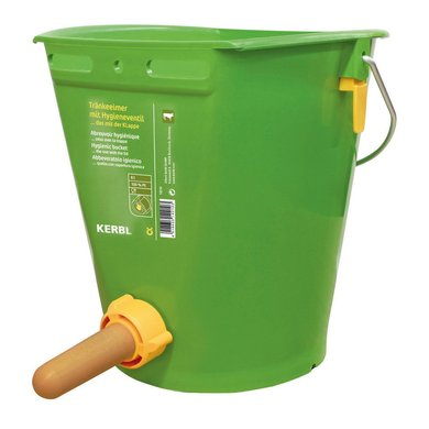 Kerbl Calf Feeding Bucket with HygienicValve 8L