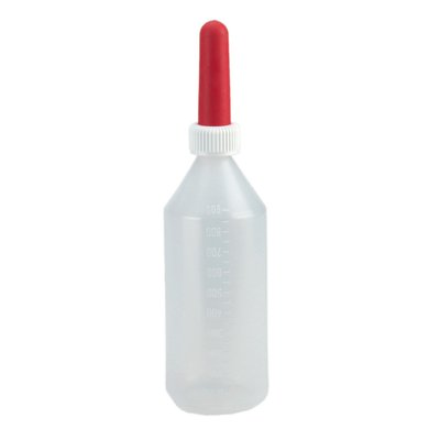 Kerbl Milchflasche Komplett Montiert Transparent