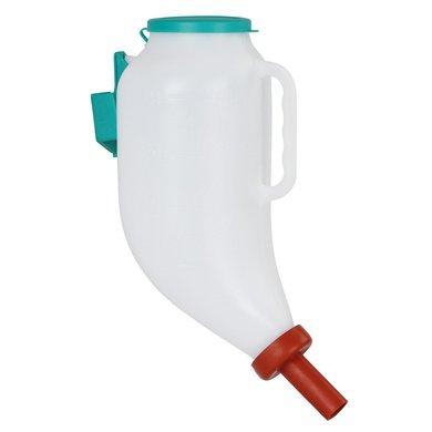 Kerbl Trockenfutterflasche incl. Kunststoff-Halterung 4L