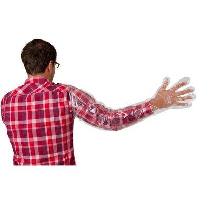 Kerbl Einmalhandschuh, VETtop-Qual. lange Ausf. 100 Stück