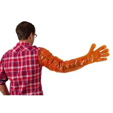 Kerbl Einmalhandschuhe Vetbasic, 100 St., Orange 90cm