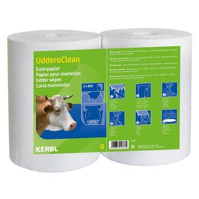 Kerbl Papier pour Mamelles Euro Farm Humide Nettoyage