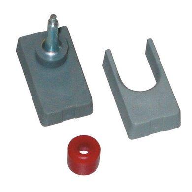 Kerbl Umrüstsatz grau, Multifl. inkl. rote Kappe Grau