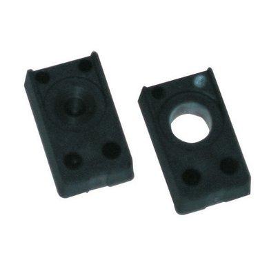 Kerbl Umrüsts. schwarz f. PF-Marken 2-teilig Schwarz