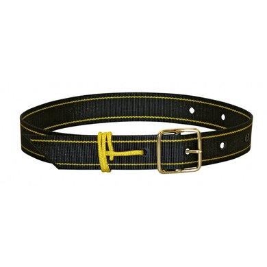 Kerbl Halsmarkeringsband Rund met Snoer Zwart/geel 40mmx65cm