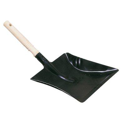 Kerbl Kehrschaufel Schwarz Holzgriff