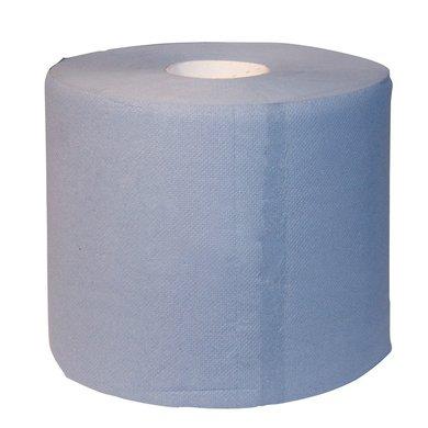 Kerbl Putzrolle, 2-lagig, 22x38cm, Blau 2x1000 Blad