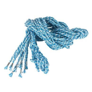 Kerbl Gerüststrick 10-er Pack, 8mm stark Blau/Weiß 2,5m