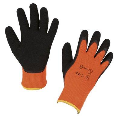 Covalliero Winterhandschoenen IceGrip Latex Oranje