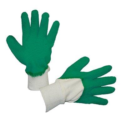 Keron Latex-Handschuh ProLaTex m. Strickbund Grün/Weiß