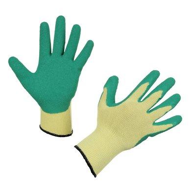 Kerbl Gebreide Handschoen Easygrip Latex Groen