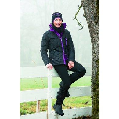 Covalliero Winterjas Andora Dames Zwart M