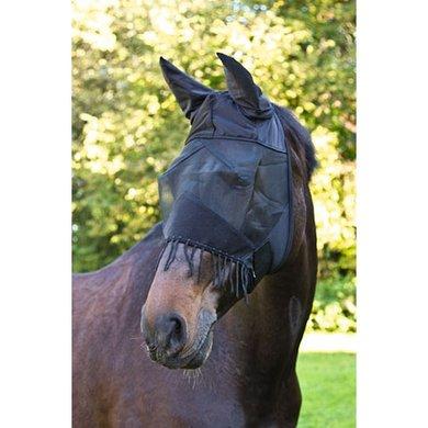 Kerbl vliegenmasker met oren Zwart