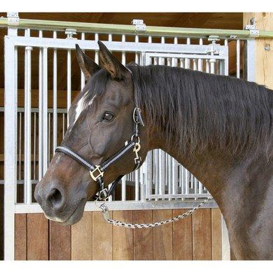 Kerbl Halfter Mustang 2fach Verstellb. Schwarz/Silber