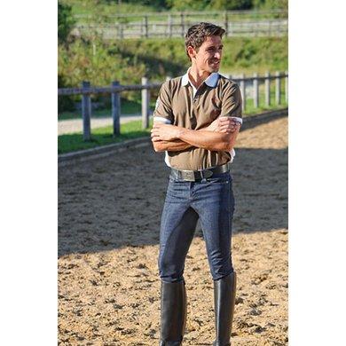 Covalliero Reithose Denim Herren Clarino Jeans Blau