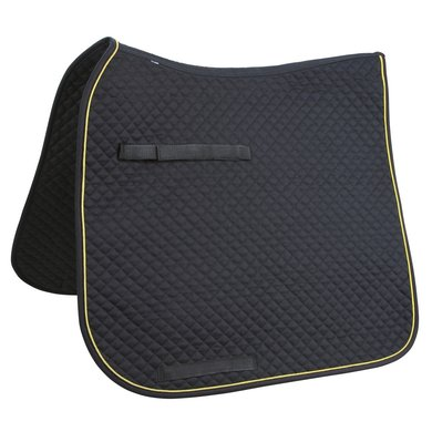 Kerbl Saddle Cloth Classic Dressage Black/Gold/Black