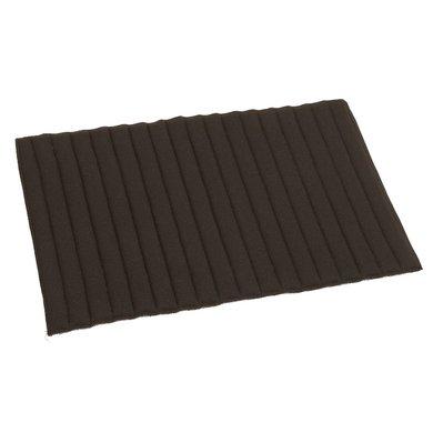 Kerbl Bandagierunterlage Paar für Vorderbein Schwarz 45x29cm