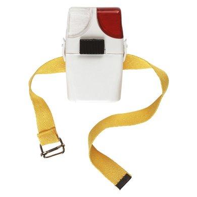 Kerbl Lampe pour Botte d'Équitation Blanc Rouge