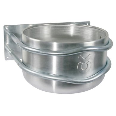 Kerbl Aluminium Feed Trough, round