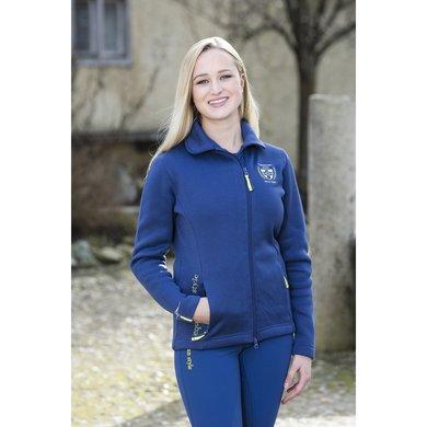 Covalliero Dames Gebreid Vest Lara Winter Blue