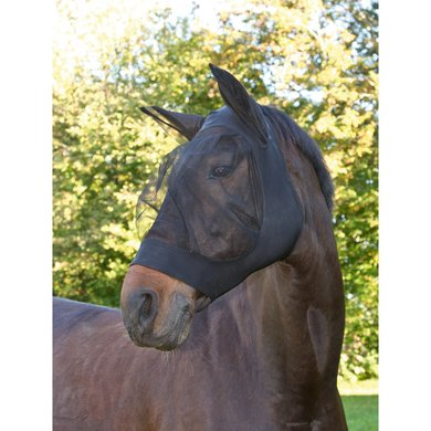 Kerbl Fly Mask Finostretch Black