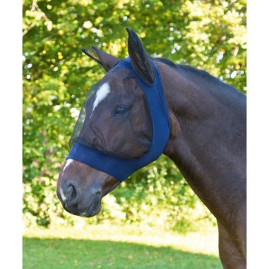 Kerbl Fly Mask Finostretch Blue