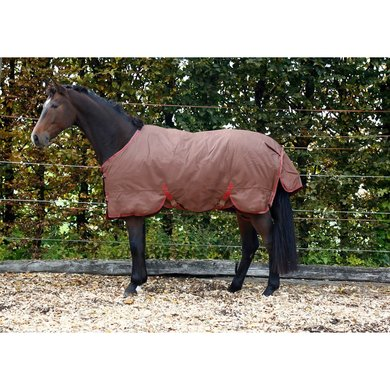RugBe By Covalliero Winter Rug IceProtect Brown/ Red 155/205
