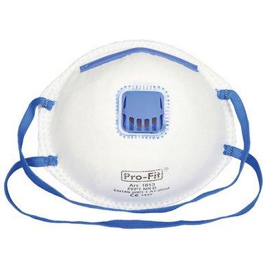 Kerbl Fine Dust Mask Ffp1 Nr withValve 3Pcs