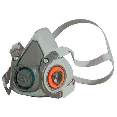 3M Halfmasker 3M S6000 Grijs M