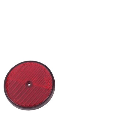 Kerbl Reflector Rond Plak Rood 4st.