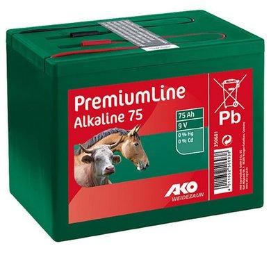 Ako Batterie Alkaline Klein Grün 75Ah-9V