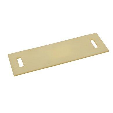 Kerbl Schutzplatte aus PU für Band 35mm 250x80mm