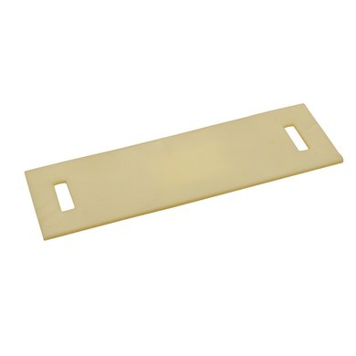 Kerbl Schutzplatte Aus Pu 250x80mm voor Band 35mm