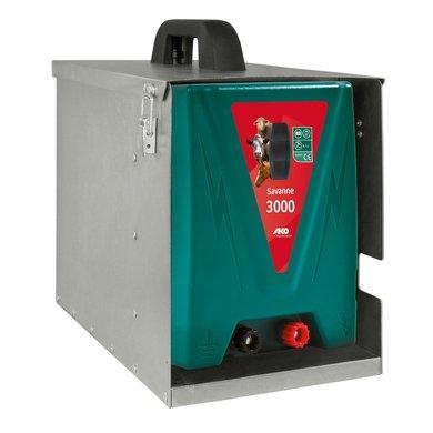 Ako Appareil à Batterie Savanne 3000 3,0 Joule avec boîtier métallique 12 Volt