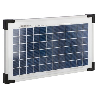 Kerbl Solarmodul 8 W Halterung f. Geräte m. Buchse f. Solar