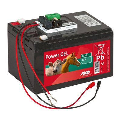 Ako Power Gel Charger + Charge Controller Black 12V